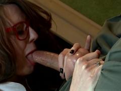 Crazy pornstar Samantha Bentley in Horny Cumshots, Stockings sex scene