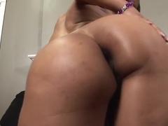 Incredible pornstar Porche Carrera in amazing brazilian, black and ebony adult video