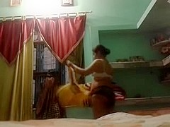 Indian Aunty megha rani self made videos in pantie part 2