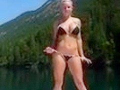 Busty Blonde get drilled on boat IM2611