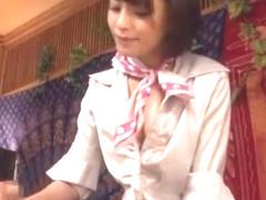 Amazing Japanese chick Yuki Natsume, Miki Sunohara, Aoki Misora in Crazy Handjobs, Massage JAV mov.