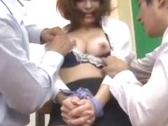 Amazing Japanese slut Erina Shirase in Crazy Cougar, Blowjob/Fera JAV scene