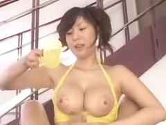 Fabulous Japanese girl Yuma Asami in Incredible POV, Cumshots JAV video