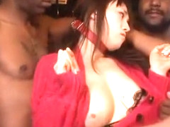 Exotic Japanese girl in Incredible Big Tits, Slave JAV video