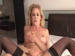 Fabulous pornstar Cherie DeVille in horny facial, big ass adult clip
