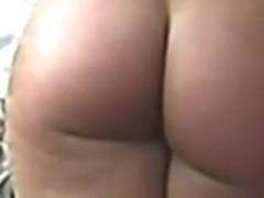 Jiggly Nude Butt Ass Cheeks walking 01