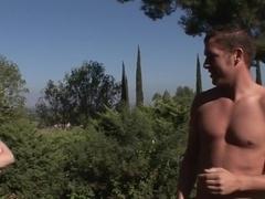Crazy pornstar Ally Ann in hottest outdoor, cumshots sex scene