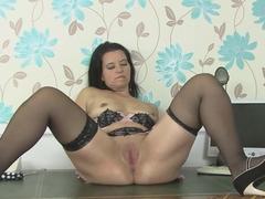 Hottest pornstar Louise Bassett in Amazing Masturbation, MILF sex clip