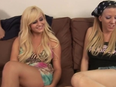 Amazing pornstars Chloe Chanel and Lexi Lamour in crazy college, blonde porn scene