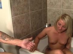 Incredible pornstar Casey Cumz in hottest blonde, blowjob adult video