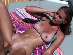 Incredible pornstars Sunset Diamond, Cris Commando in Horny Outdoor, Big Ass adult video