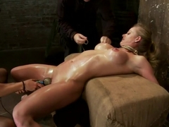 Can Holly cum before she chokes out? Will darkness settle before Isis rips an orgasm out of holly?