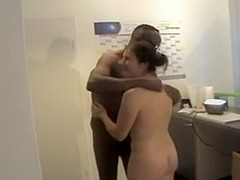 Fucked hard by white and ebony men