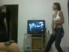 Wrestling: 2 Brazilian  immature Babes