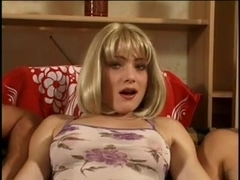 Hot Claire enjoys a anal group sex act