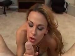 Samantha loves to suck cock