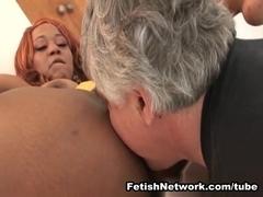 EliteSmothering Video: Hairy ebony pussy demands worship