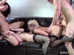 ZZ Series: Sins Life Part Three. Aidra Fox, Dahlia Sky, Kissa Sins, Johnny Sins