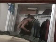 Hidden camera wardrobe
