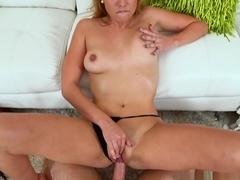 Horny pornstars Cosima Knight, Levi Cash in Hottest Blonde, Facial adult clip