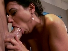 Billy Glide fucks busty bitch Charley Chase