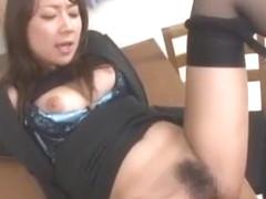 Exotic Japanese slut in Fabulous Big Tits, Doggy Style JAV movie