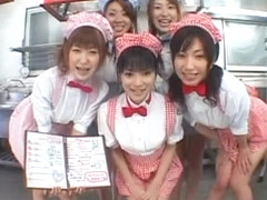 Crazy Japanese model Ryouko Sena, Airi Nakashima, Hina Otsuka in Hottest Group Sex, Handjobs JAV m.