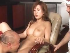 Hottest Japanese girl Risako Konno in Exotic Dildos/Toys, Big Tits JAV clip