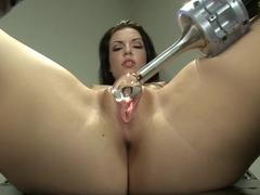 Amazing fetish porn video with crazy pornstar Aria Aspen from Fuckingmachines