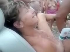 Nude camping strange sex