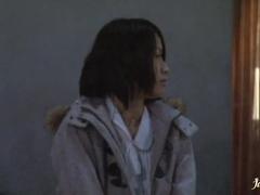 MMF action facial cumshot with Kaede Niiyama
