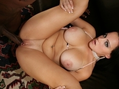 Natasha Nice showing her huge boobs and fucking