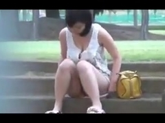 Outdoor masturbation 2