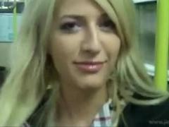 Hawt blond Loirinha copulates like a true back door bitch