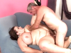 Voluptuous mature woman with a massive booty is longing for wild sex