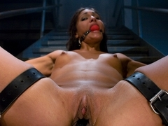 Crazy fetish, lesbian xxx scene with exotic pornstars Miss Jade Indica and Princess Donna Dolore f.