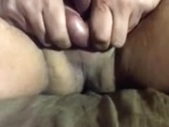 squeeze my little balls for cum