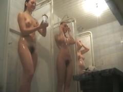 Hidden cameras in public pool showers 875