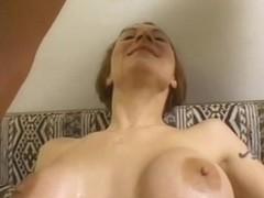 Alisha Learns to Deepthroat