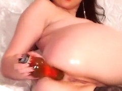 Brunette Beladonna hard fucks her ass