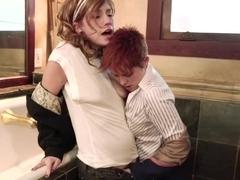 Best pornstars Lily Cade, Nikki Hearts and Proxy Paige in hottest lesbian, brazilian porn scene