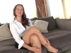 Fabulous pornstar Josi Valentine in exotic big cocks, redhead adult movie