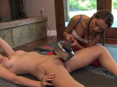 Fabulous pornstars Mari Possa, Sage Evans in Amazing Redhead, Big Tits sex scene