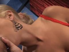 Horny pornstar Madison James in hottest big tits, blonde xxx clip