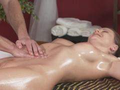 Horny pornstars Tina Kay, George in Crazy Massage, Cumshots xxx movie