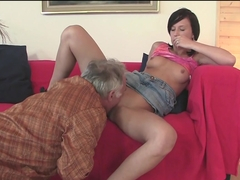 Horny pornstar in Best Facial, College adult video