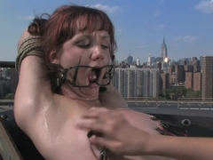 Exotic fetish adult scene with crazy pornstars Betty Baphomet, Nadia Styles and Pinky Lee from Wir.
