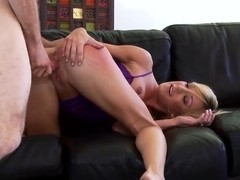 Busty Amy Brooke Fingers Her Own Ass While Riding Cock