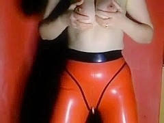 Milking Machine on Full Tits