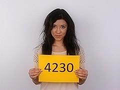 CZECH CASTING - Cute legal age teenager ESTER (4230)